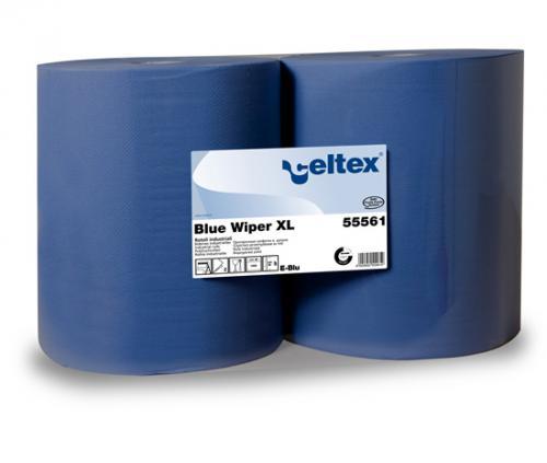 Двухслойные бумажные протирочные материалы Blue Wiper XL