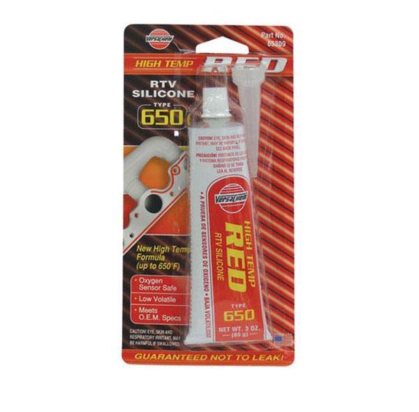 Герметик высокотемпературный силиконовый (красный)