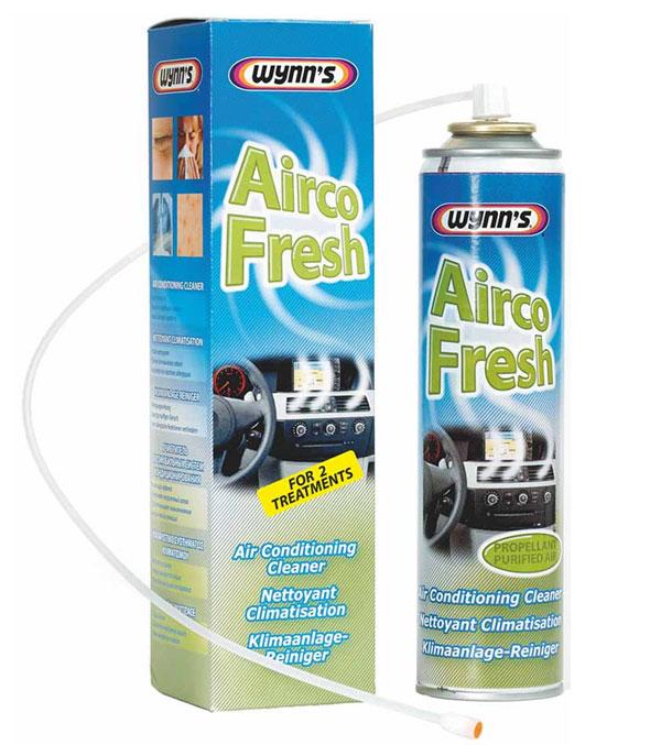Airco Fresh Высокотехнологичный химический продукт на водной основе в аэрозолях для обработки систем кондиционирования и вентиляции.