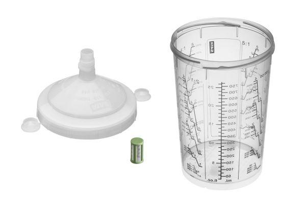 Набор RPS - стаканы с крышкой 900мл и фильтром 200µ, 40шт.