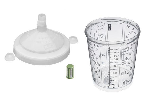 Набор RPS - стаканы с крышкой 600мл и фильтром 200µ, 57шт