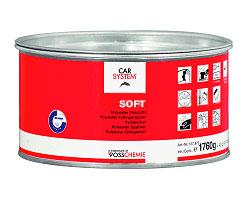 Полиэфирная наполняющая шпатлёвка soft (1.8 кг)