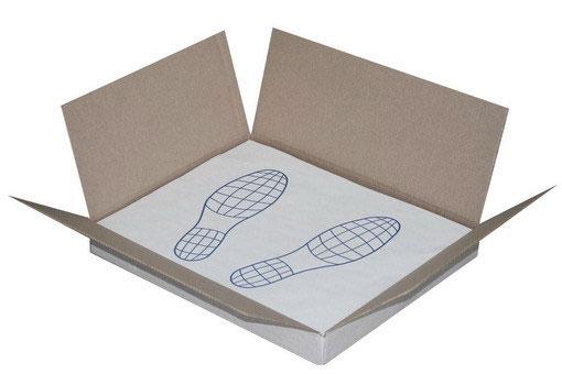 Защитное покрытие на пол бумага (100 шт.в упак.)