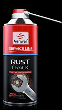 VW-SL-001RU Rust crack ™ pазрушитель ржавчины 400 мл.