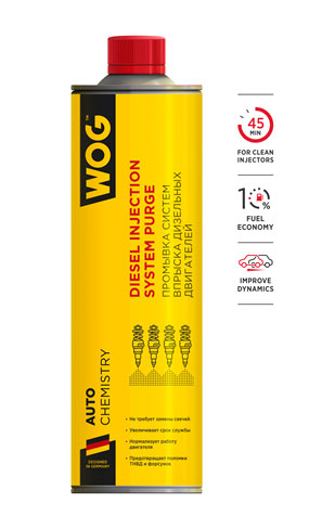 WGC0530 Промывка инжекторной системы бензинового двигателя безразборным методом WOG 800мл