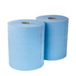 55562/2 Бумага протирочная 33х35, 1000 отрывов, 2 слоя, синяя целлюлоза уп.2шт