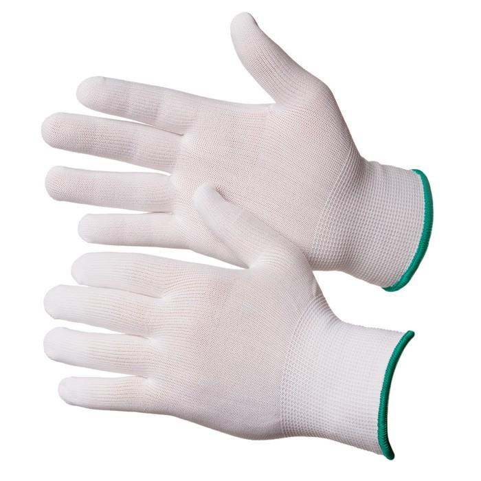 Чистые нейлоновые перчатки