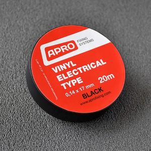 APRO Изолента ПВХ 19ммх20м чёрная