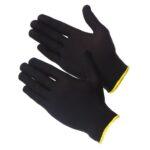 Нейлоновые перчатки черные