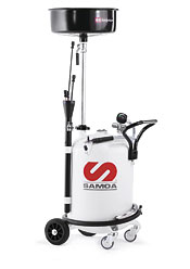 SAMOA Маслосборник комбинированный для откачки/слива масла, 70 л 373500