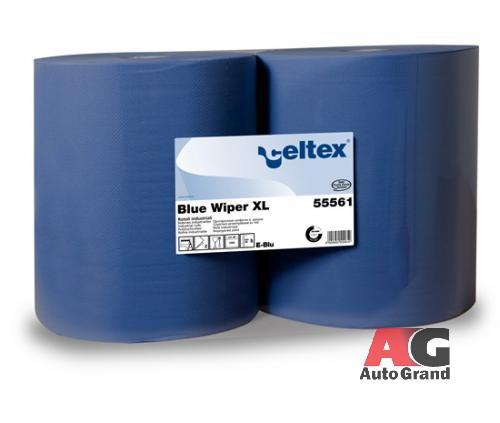 Двухслойные бумажные протирочные материалы CELTEX Blue Wiper XL