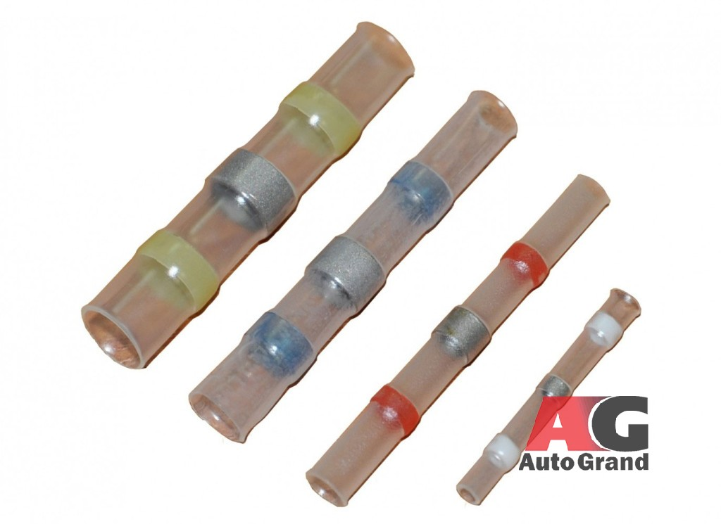 Коннекторы соединительные в термоусадке с оловом