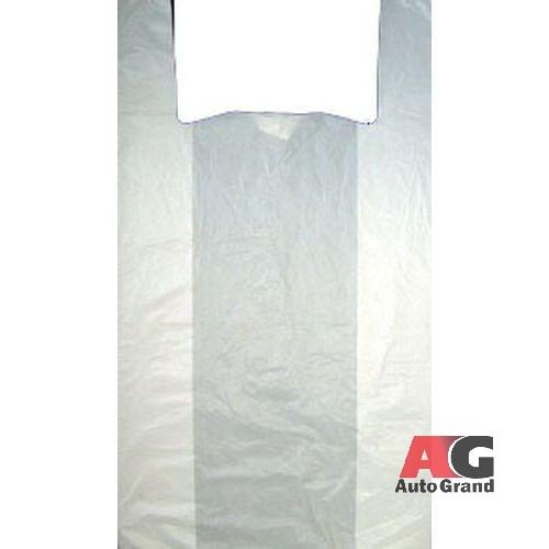"""Пакет типа """"майка"""" 30+16x60 (15) Люкс Артпласт (Белая) упак 2400шт."""